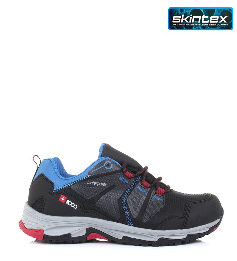 Comprar + 8000 Zapatillas trekking Traser negro, azul / Thermosealing / Flextep