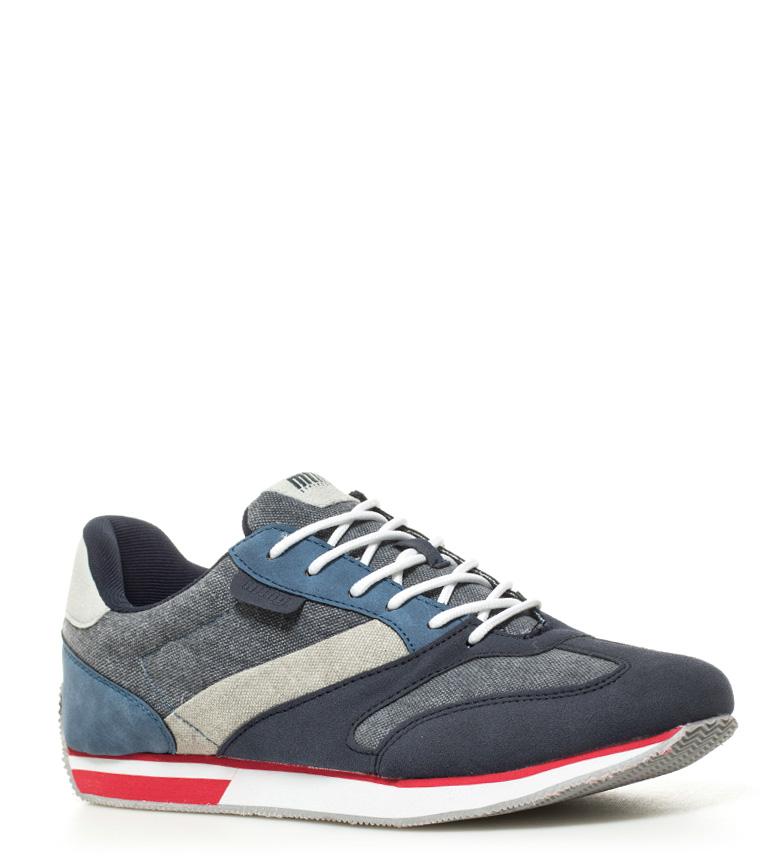 Mustang Zapatllas Basi azul, gris