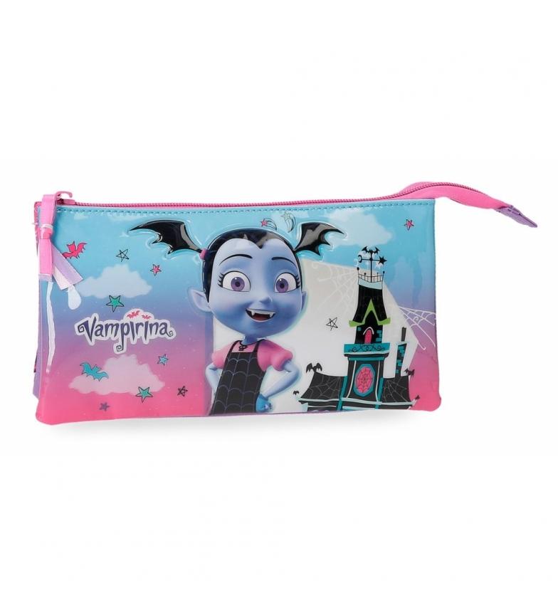 Comprar Vampirina Estuche Vampirina tres compartimentos -22x12x5cm-