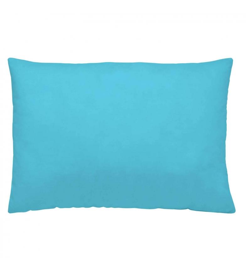 Comprar Naturals Basics taie d oreiller turquoise -45x110cm