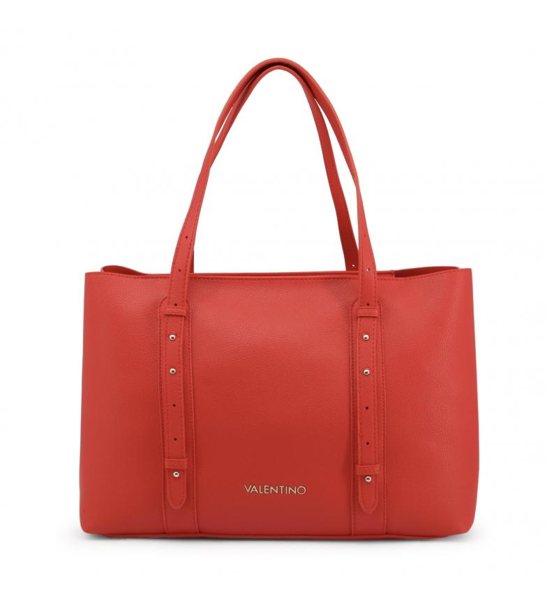 Valentino by Mario Valentino Bolso Shopping bag ALMA-VBS3UM01 rojo -38x27x11cm-