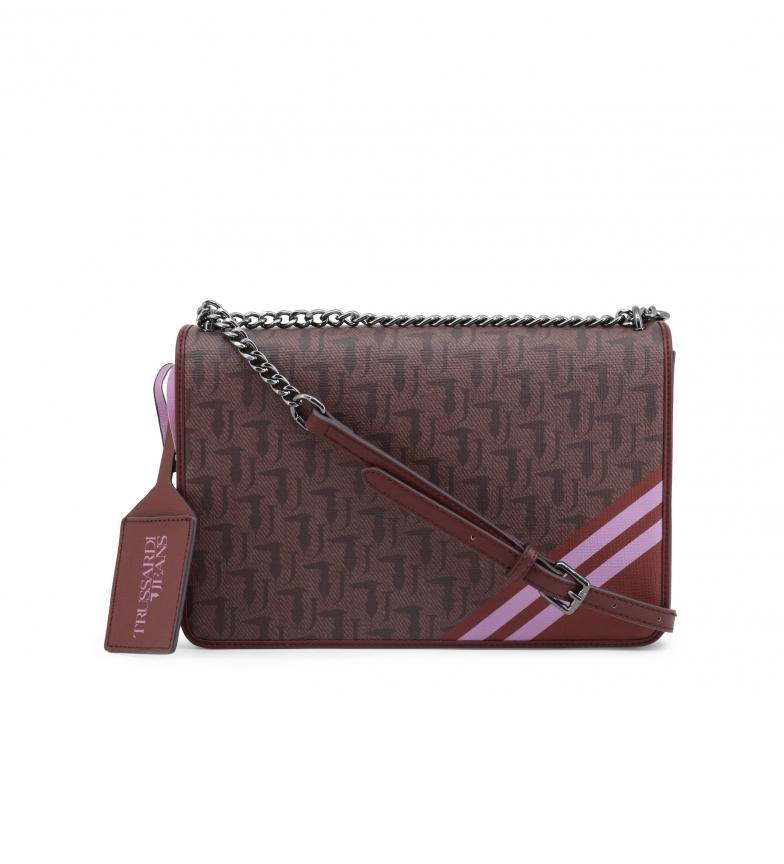 Trussardi Shoulder bag VANIGLIA_75B00480-99 brown -30x20x7cm