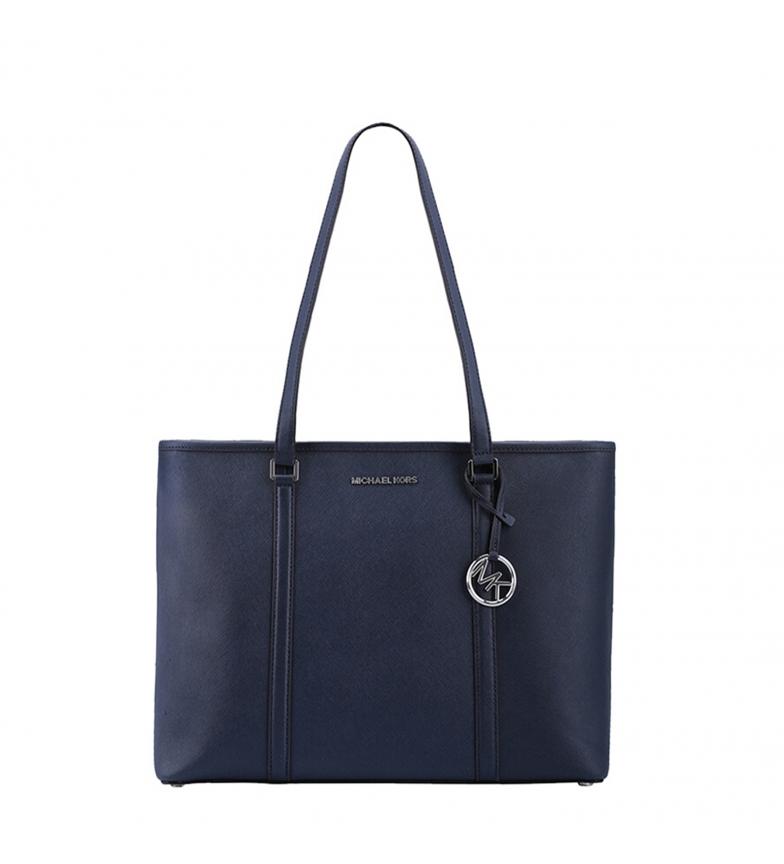 Comprar Michael Kors Shopping bag Sady navy blue -44x30x15cm