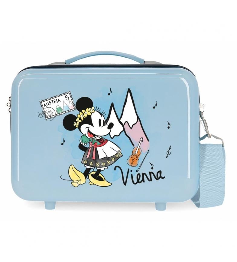 Comprar Minnie ABS Toilet Bag Let's Travel Minnie Vienna Adaptable light blue -29x21x15cm