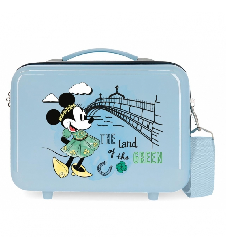 Comprar Minnie ABS Toilet Bag Let's Travel Minnie Dublin Adaptable light blue -29x21x15cm