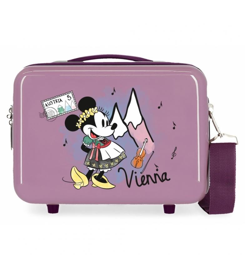 Comprar Minnie ABS Toilet Bag Let's Travel Minnie Vienna Adaptable purple -29x21x15cm