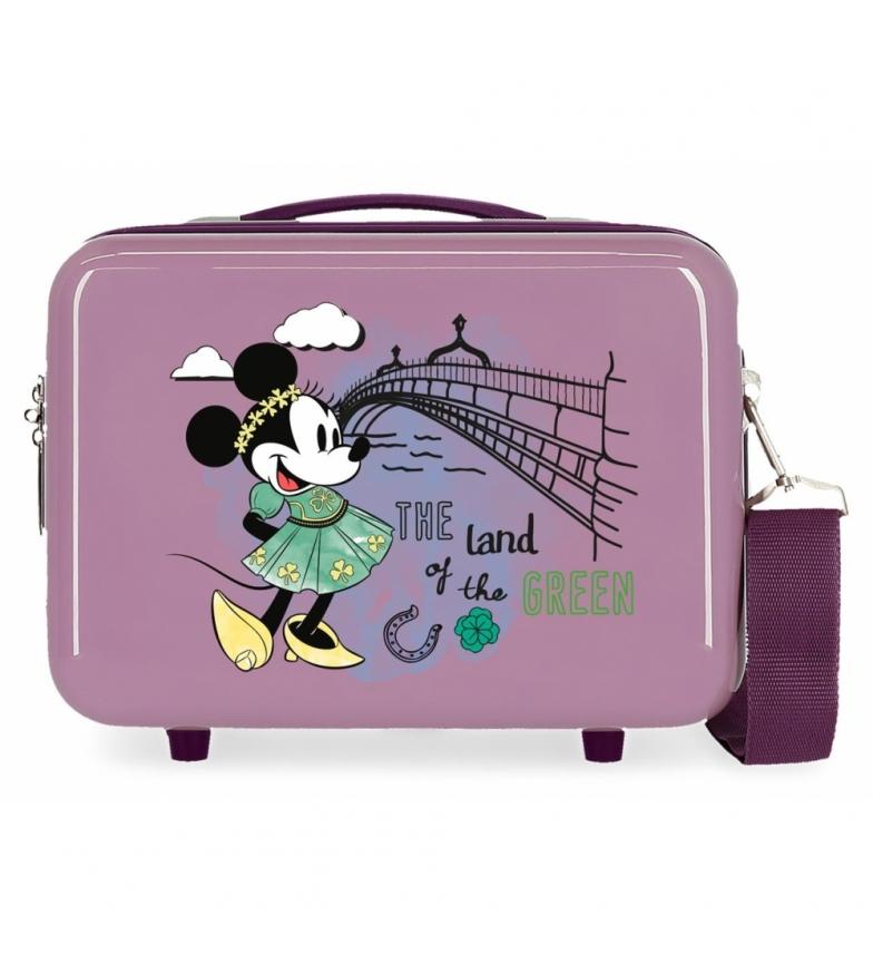 Comprar Minnie ABS Toilet Bag Let's Travel Minnie Dublin Adaptable purple -29x21x15cm