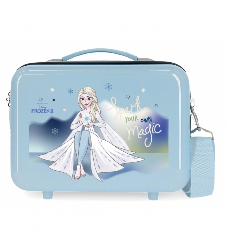 Comprar Frozen Toilet bag ABS Frozen Spark your own magic Adaptable sky blue -29x21x15cm