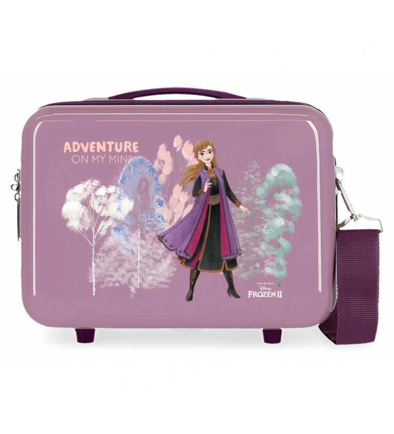 Comprar Frozen Toilet bag ABS Frozen Adventure of my mind Adaptable purple -29x21x15cm