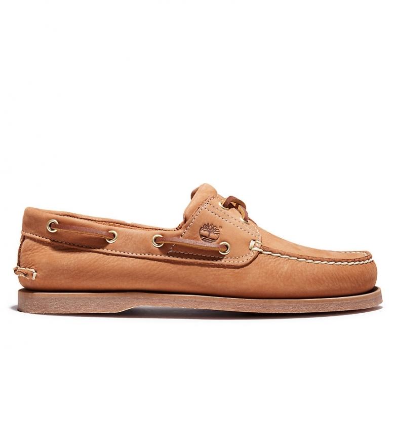 Comprar Timberland Chaussures bateau classiques en cuir beige