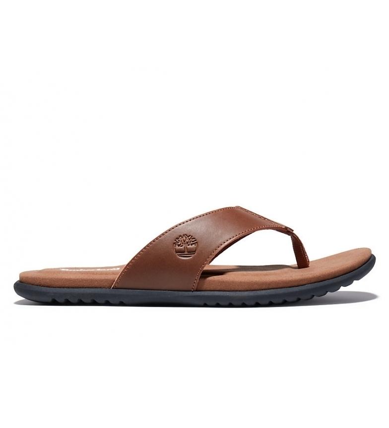 Comprar Timberland Leather sandals Kesler Cove Thong camel