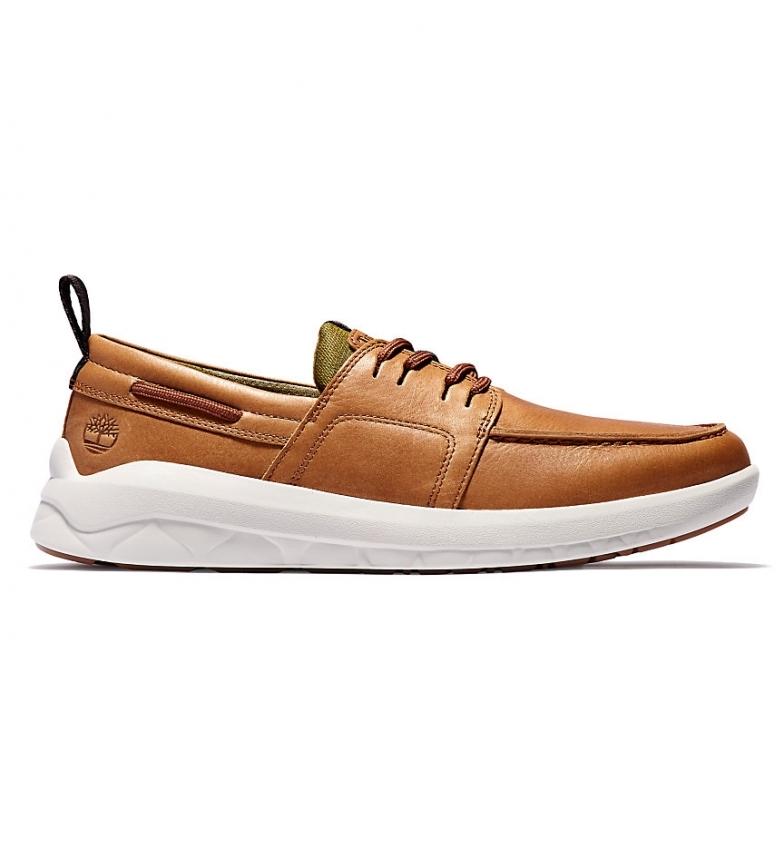 Comprar Timberland Bradstreet Ultra camel leather sneakers