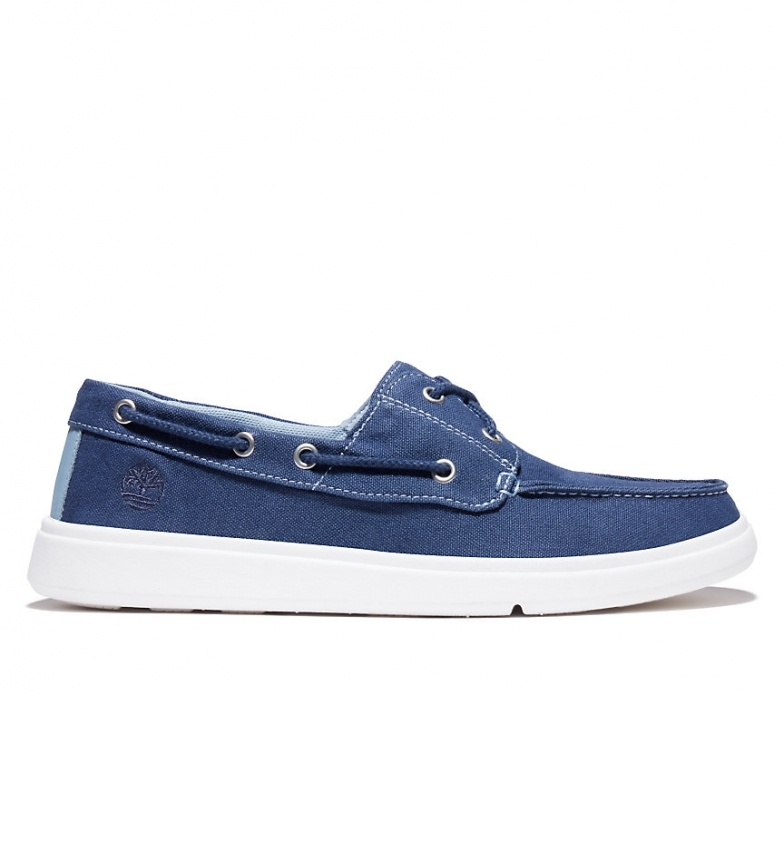 Comprar Timberland Classic blue leather boat shoes