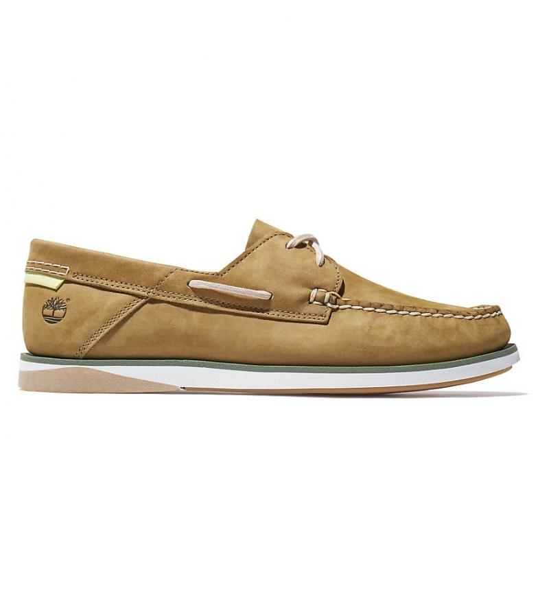Comprar Timberland Chaussures de bateau Atlantis Break en cuir taupe