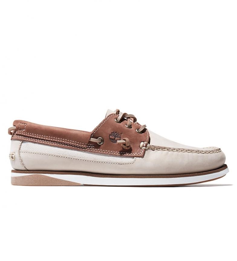 Comprar Timberland Atlantis Break beige leather boat shoes