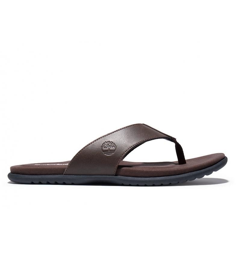 Comprar Timberland Kesler Cove Thong dark brown leather sandals