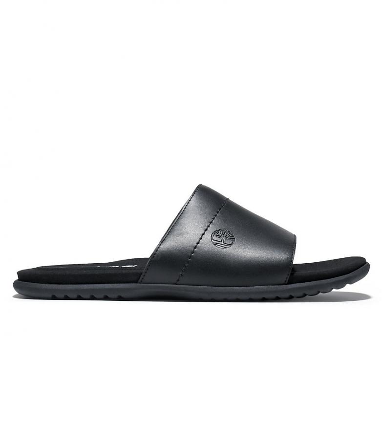 Comprar Timberland Leather sandals Kesler Cove Slide black