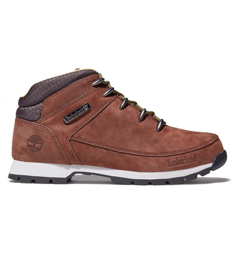 Comprar Timberland Botas de piel Euro Sprint Hiker marrón / Rebotl