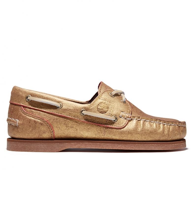 Comprar Timberland Classiche scarpe da barca in pelle EK + oro