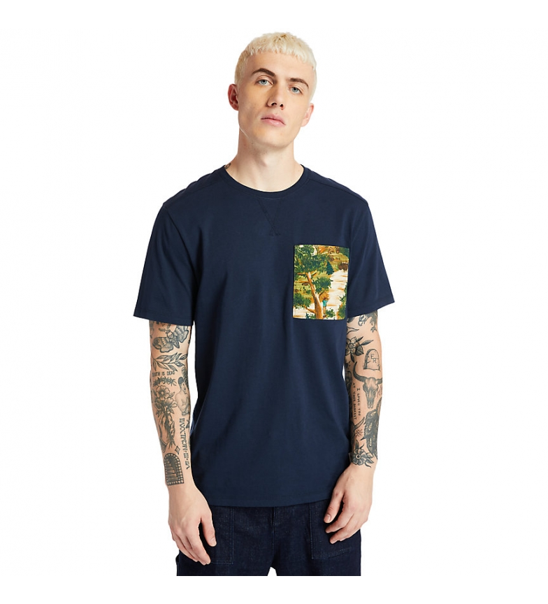 Comprar Timberland T-shirt short sleeve FT navy