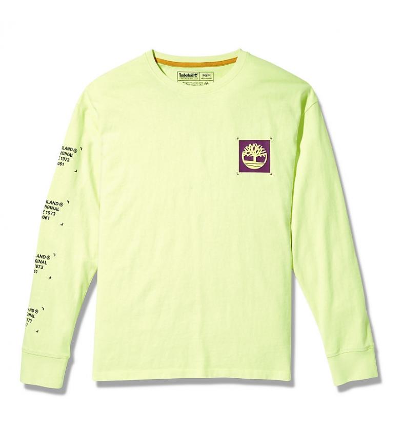 Comprar Timberland T-shirt gialla a manica lunga YC