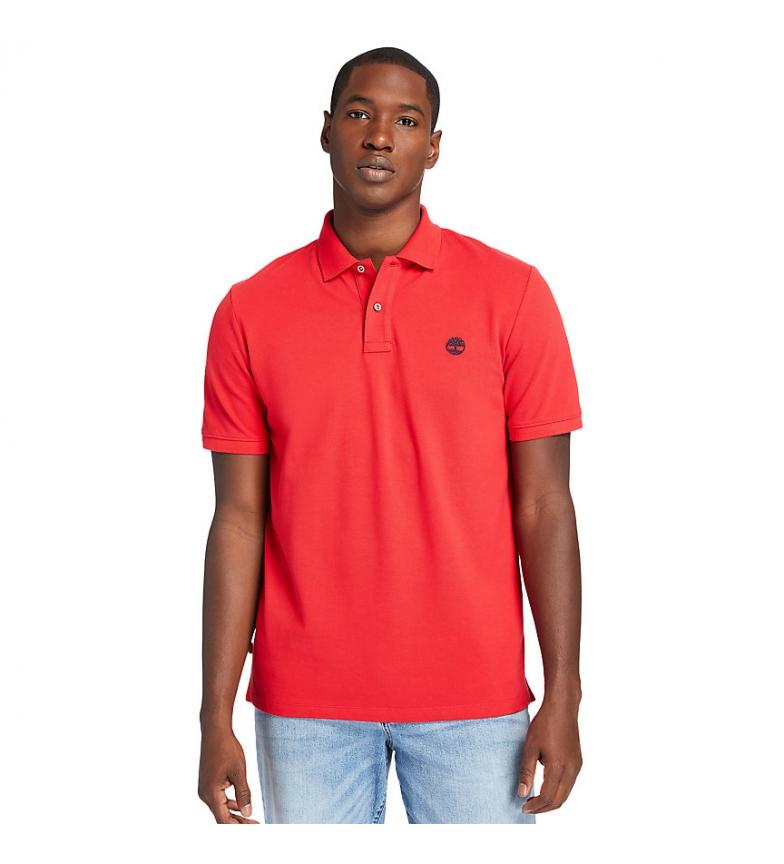 Comprar Timberland SS MR camisa pólo regular vermelha