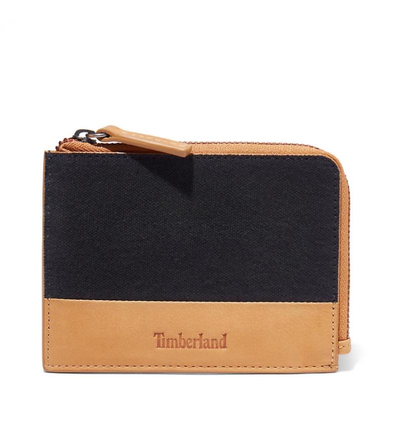 Comprar Timberland Portafoglio Braerbun in pelle nera -12,5 x 9,5 cm-