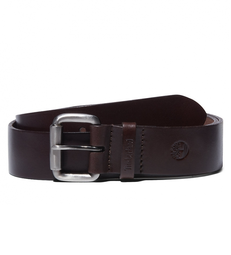 Comprar Timberland Keeper Belt B76431 cintura in pelle nera