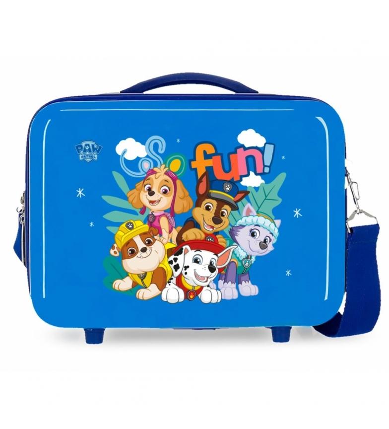 Comprar Patrulla Canina Paw Patrol So Fun ABS Toilet Bag Adaptable blue -29x21x15cm