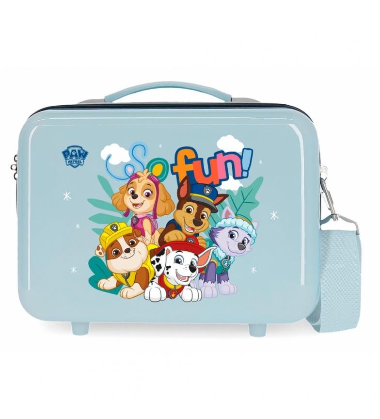 Comprar Patrulla Canina Paw Patrol So Fun ABS Toilet Bag Adaptable light blue -29x21x15cm
