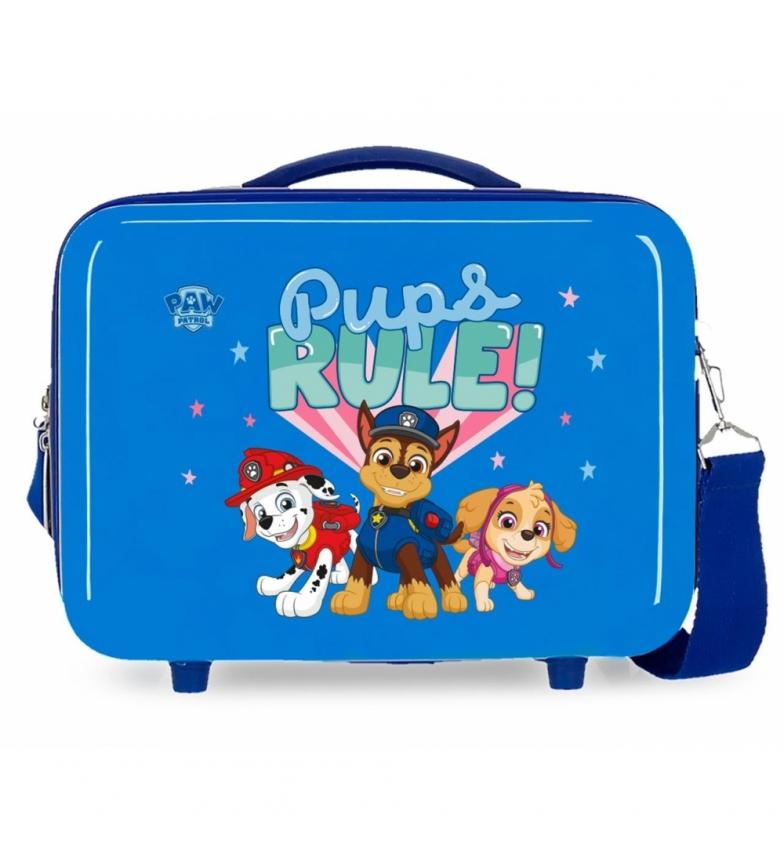 Comprar Patrulla Canina Toilet Bag ABS Paw Patrol Pups Rule Adaptable blue -29x21x15cm