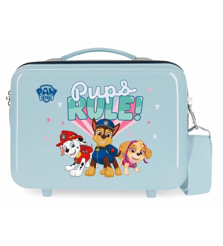 Comprar Patrulla Canina Toilet Bag ABS Paw Patrol Pups Rule Adaptable light blue -29x21x15cm