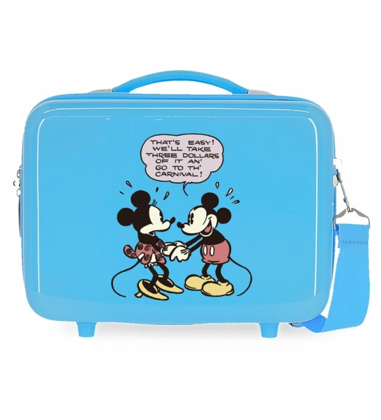 Comprar Mickey Mickey & Minnie Comic ABS Toilet Bag That's Easy Adaptable blue -29x21x15cm