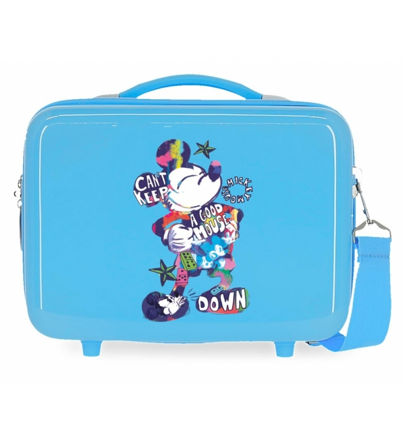 Comprar Mickey ABS Toilet Bag Mickey Can't Keep a Good Mouse That's Easy Adaptable blue -29x21x15cm
