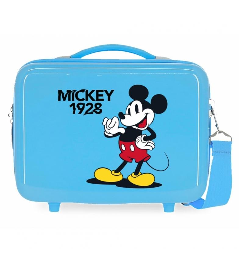 Comprar Mickey ABS Toilet Bag Mickey 1928 That's Easy Adaptable blue -29x21x15cm