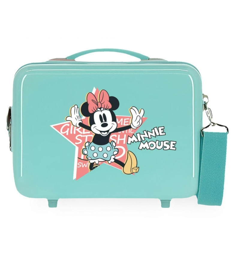 Comprar Minnie Toilet Bag ABS Minnie Mouse That's Easy Adaptable turquoise -29x21x15cm