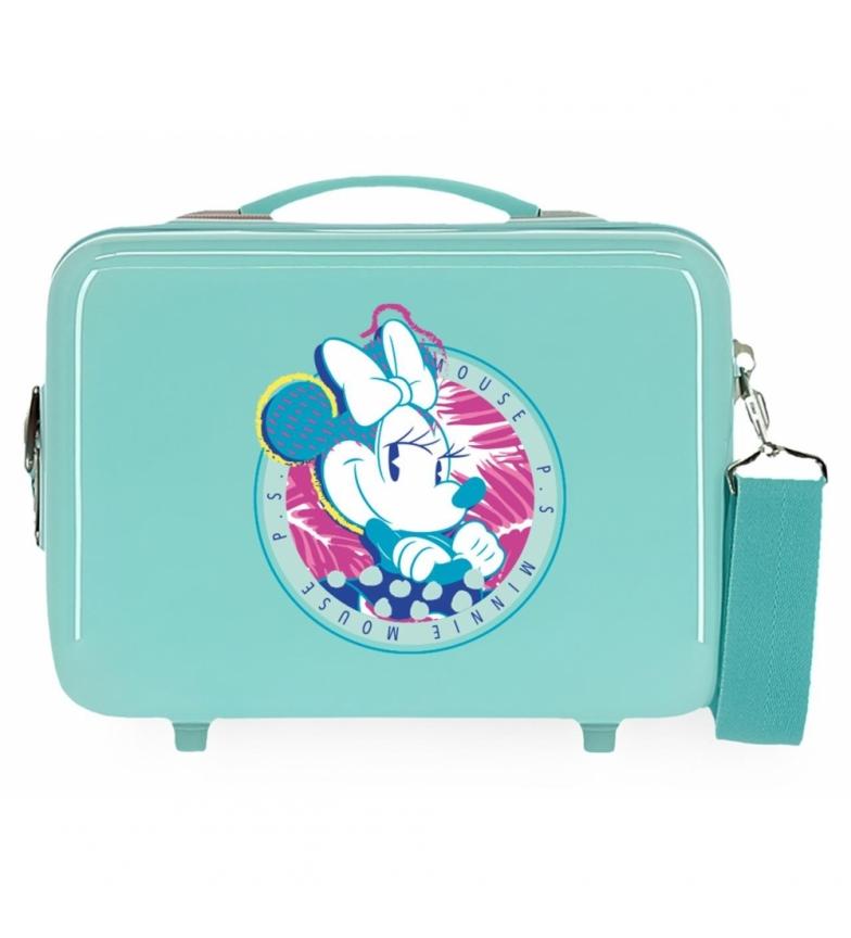 Comprar Minnie Toilet Bag ABS Minnie P.S. That's Easy Adaptable turquoise -29x21x15cm