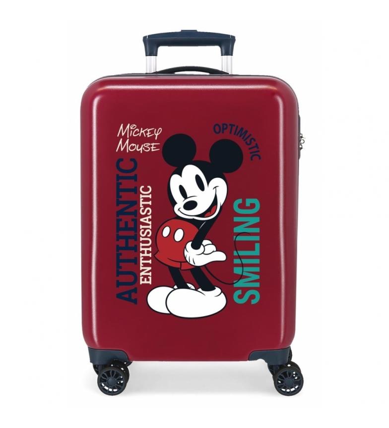 Comprar Disney Cabin Suitcase Mickey Original Authentique maroon -38x55x20cm