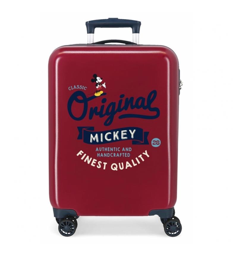 Comprar Disney Cabin Suitcase Mickey Original Classic maroon -38x55x20cm