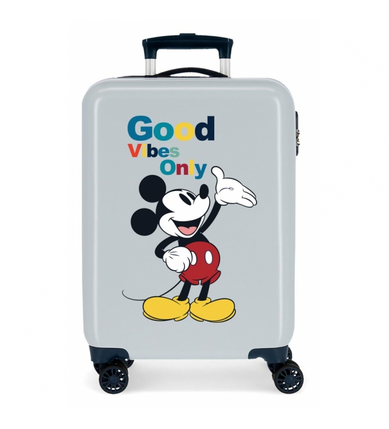 Comprar Disney Cabin Suitcase Mickey Original Good Vibes Only blue -38x55x20cm