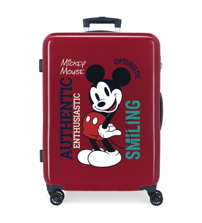 Comprar Disney Medium Suitcase Mickey Original Authentique maroon -48x68x26cm