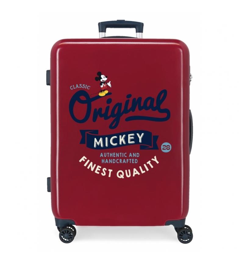 Comprar Disney Medium Suitcase Mickey Original Original Classic maroon -48x68x26cm