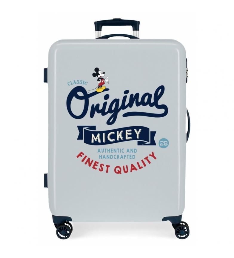 Comprar Disney Medium Suitcase Mickey Original Original Classic blue -48x68x26cm