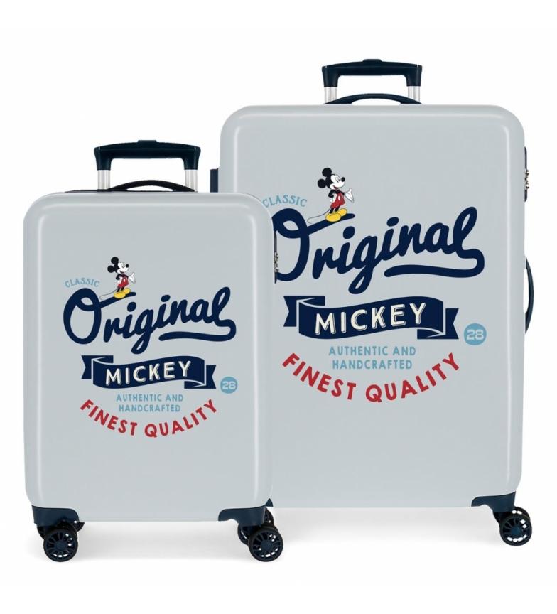Comprar Joumma Bags Ensemble de bagages Mickey Original Classic bleu -38x55x20cm et 48x68x26cm