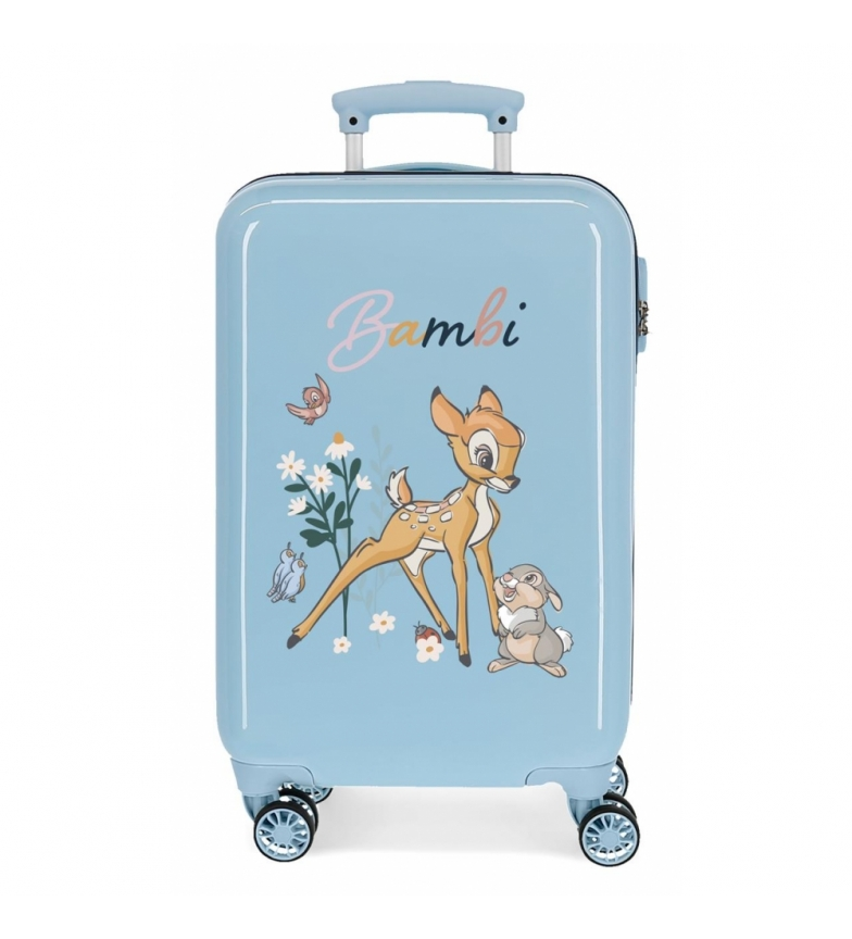 Comprar Disney Cabin size suitcase Before the Bloom Bambi blue -34x55x20cm