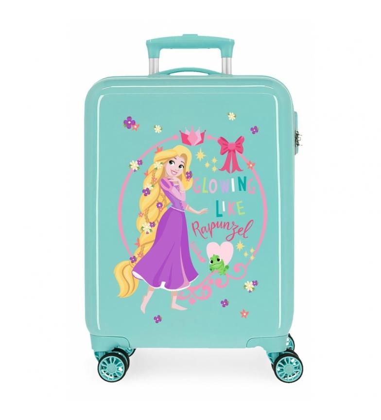 Comprar Disney Cabin Suitcase Rapunzel Princess Celebration rigid turquoise -38x55x20cm