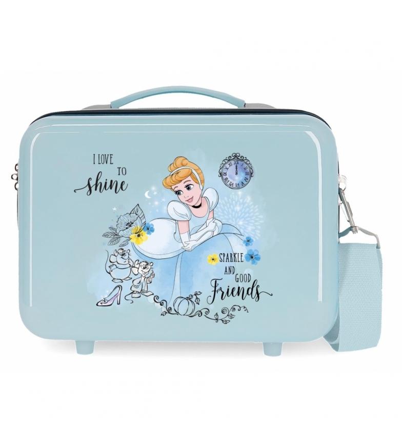 Comprar Disney Neceser ABS Cenicienta Princess Celebration Adaptable azul -29x21x15cm-