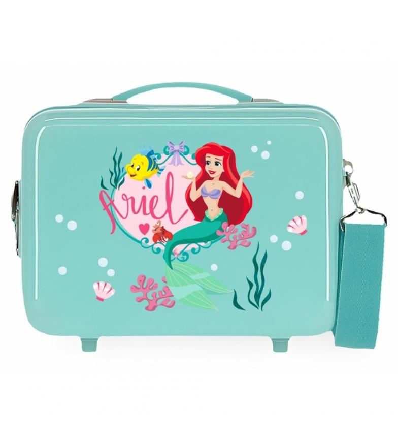 Comprar Joumma Bags Trousse de toilette ABS Ariel Princess Celebration Adaptable turquoise -29x21x15cm