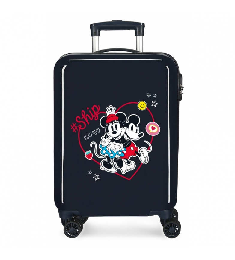 Comprar Disney Cabin Suitcase Mickey & Minnie Ship Always Be Kind rigid navy -38x55x20cm