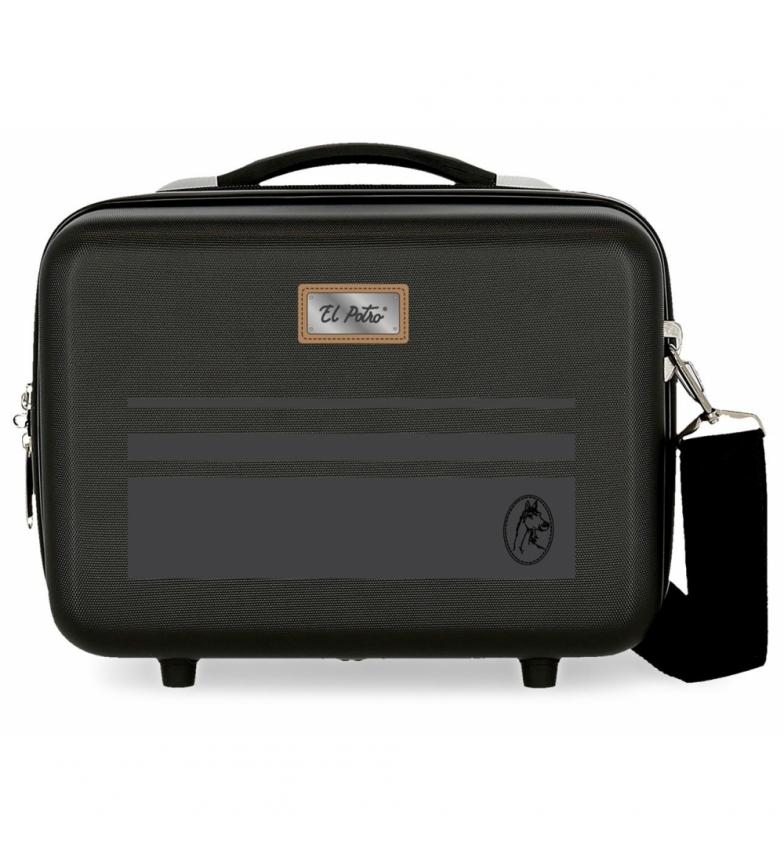 Comprar El Potro ABS Chic Adaptable Toilet Bag -29x21x15cm- black